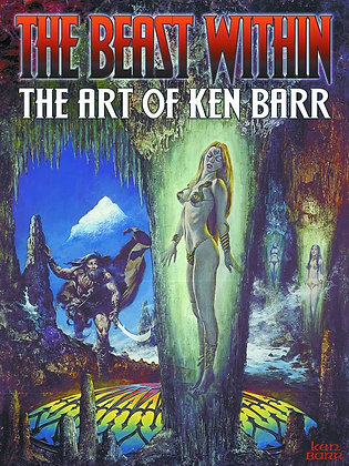 BEAST WITHIN ART OF KEN BARR SC SQP ART BOOKS