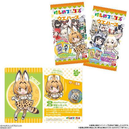 "2 packs of ""Kemono Friends"" Wafer"