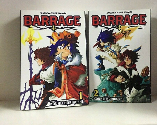 Barrage, Vol. 1,2 Manga Paperback – Illustrated, March 5, 2013  by Kohei Horikos