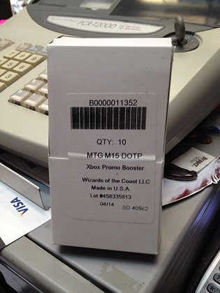 Magic the gathering M15 core set 2015 Xbox promo booster box ( 10ct)