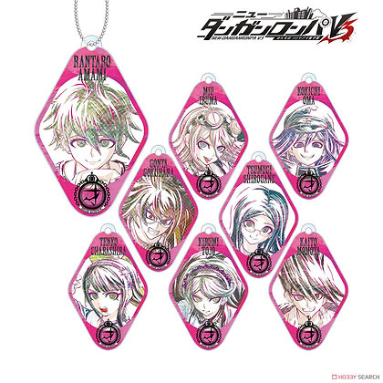 Danganronpa V3: Killing Harmony Trading Ani-Art Acrylic Key Ring Ver.B (Set of 8