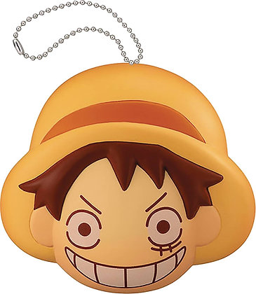 ONE PIECE FLUFFY SQUEEZE SANJIS BREAD LUFFY  MEGAHOUSE CORPORATION Fr