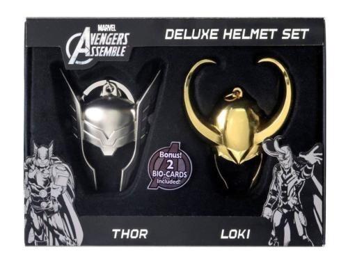 Marvel Thor: Thor & Loki Helmet Limited Edition Key Chain (Set of 2)