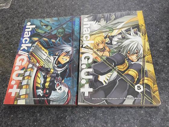 .hack//G.U.+ Volume 4,5 ENGLISH  (Manga) (Books) NEW