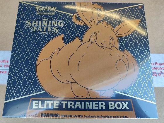 The Pokémon TCG: Shining Fates Elite Trainer Box
