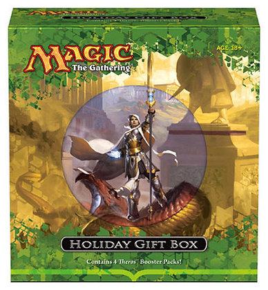 Magic the Gathering Theros Holiday Gift Box Factory Sealed MTG 4 Booster Packs