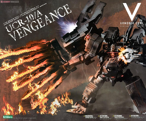 Armored Core V V.I. Series 1/72 UCR-10/A Vengeance