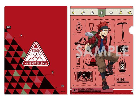 """My Hero Academia"" -Mountain Climbing!!- Clear File F Kirishima Eijiro"