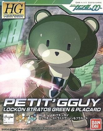 Petitgguy Lockon Stratos Green & Placard (HGPG) (Gundam Model Kits)