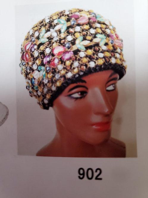 902 fancy royal hat