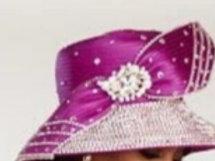 Fuscia rynston hat