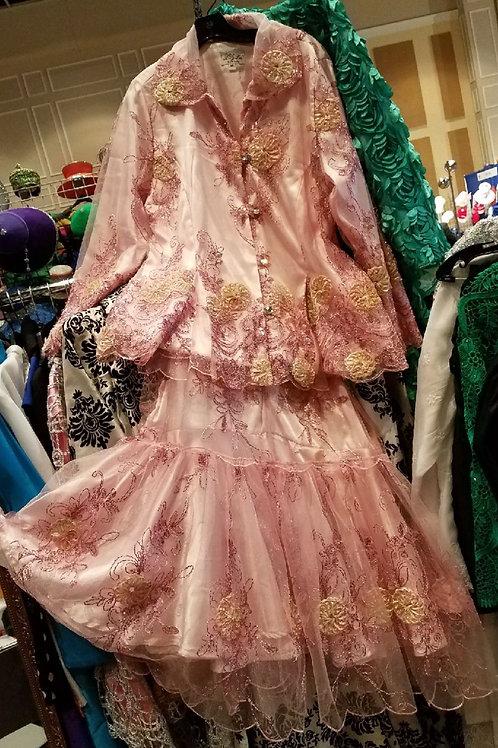Pink dress  2 pcs