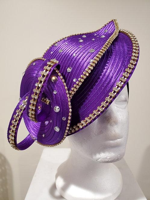 Purple Fanscinator