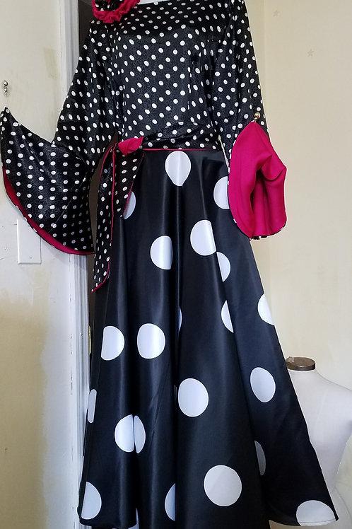 Pokdot dress