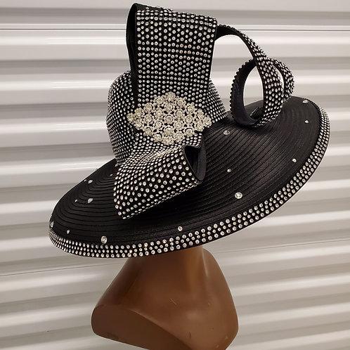 Fancy blk hat