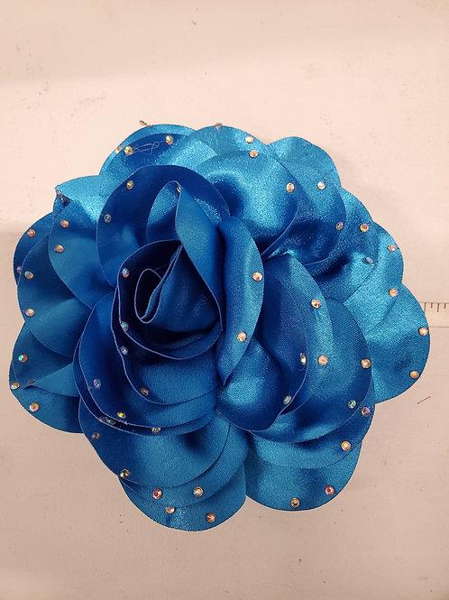 Satin  blue flower