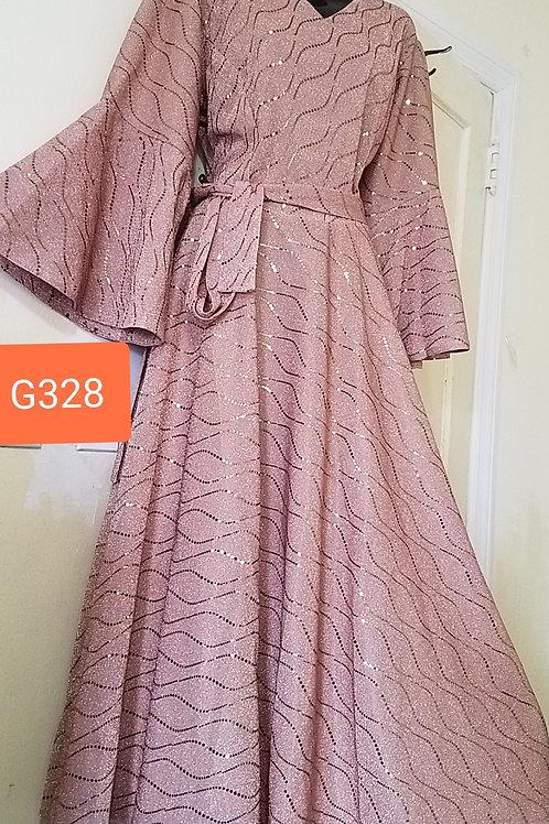 G328  pink dress