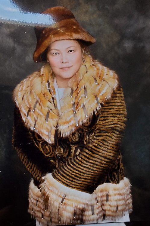 Fancy fur coat