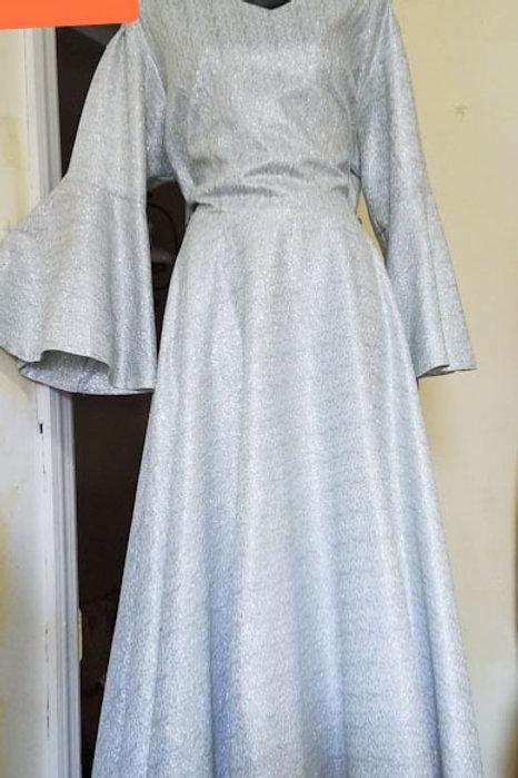 Silve dress G329