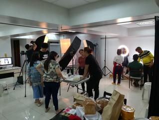 Talent and Food shoot at Pixelpro Studio
