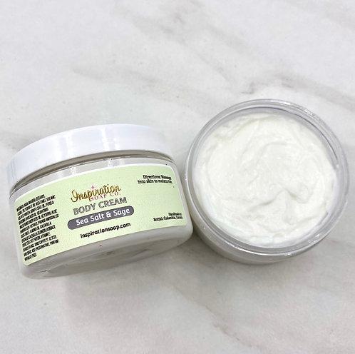 Sea Salt & Sage Body Cream