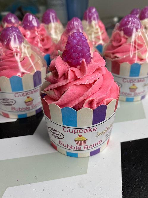 Cupcake Bubble Bombs - Black Raspberry Vanilla