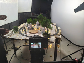 Behind the scenes for Kenny's Christmas Campaign Video