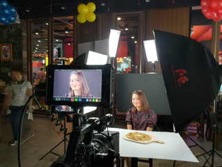 Shooting for Shakeys Philippines