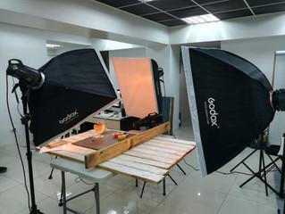 BTS studio shoot at Pixelpro Studio