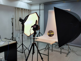Product shoot in our studio