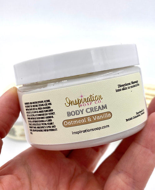 Oatmeal & Vanilla Body Cream