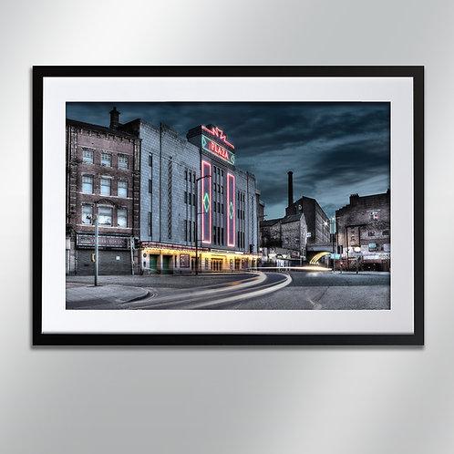 Stockport Plaza, Wall Art, Cityscape, Fine Art Photo