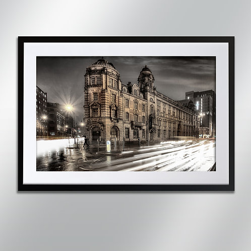 Manchester London Road Fire Station, Wall Art, Cityscape, Fine Art Photography