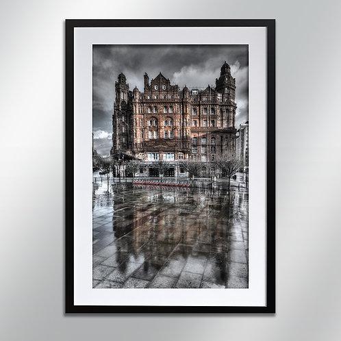 Manchester Midland Hotel, Wall Art, Cityscape, Fine Art Photography