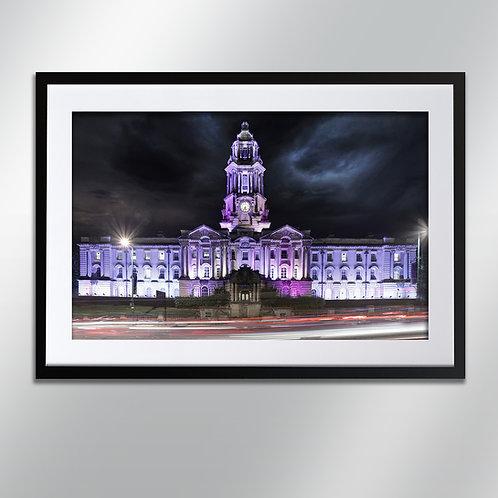 Stockport Town Hall, Wall Art, Cityscape, Fine Art Photo