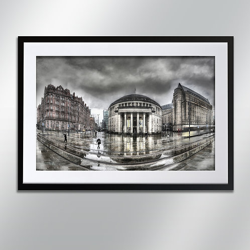 Manchester St Peter Square, Wall Art, Cityscape, Fine Art Photography