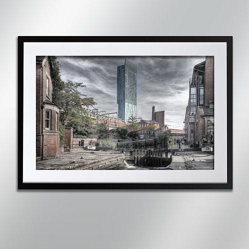 Manchester Lock 92, Wall Art, Cityscape, Fine Art Photography
