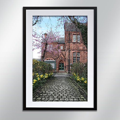 Knutsford Egerton Boys Entrance, Wall Art, Cityscape, Fine Art Photography