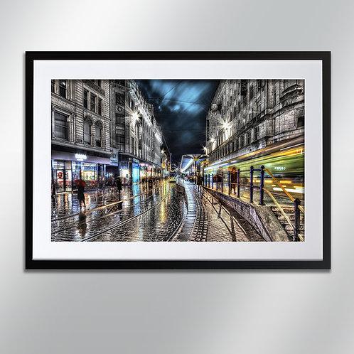 Manchester Market Street, Wall Art, Cityscape, Fine Art Photography