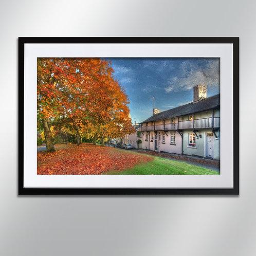 Knutsford Drury Lane, Wall Art, Cityscape, Fine Art Photography