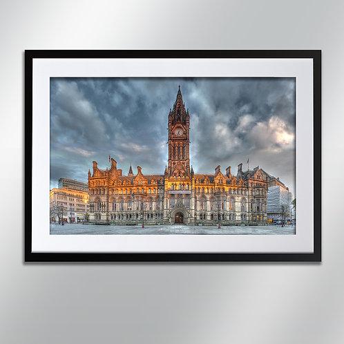 Manchester Town Hall, Wall Art, Cityscape, Fine Art Photography