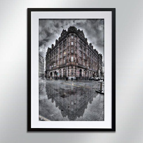 Manchester Midland Hotel, Wall Art, Cityscape, Fine Art Photography