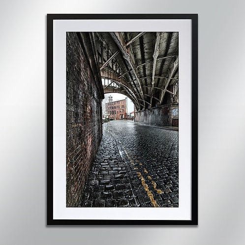 Castlefield Castle Street and Eastgate, Wall Art, Cityscape, Fine Art Photo