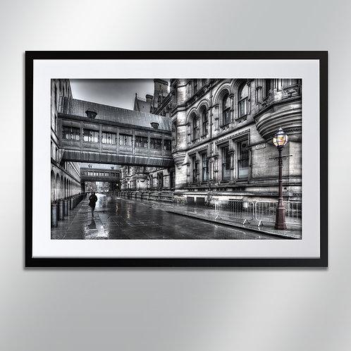 Manchester Lloyd Street, Wall Art, Cityscape, Fine Art Photography