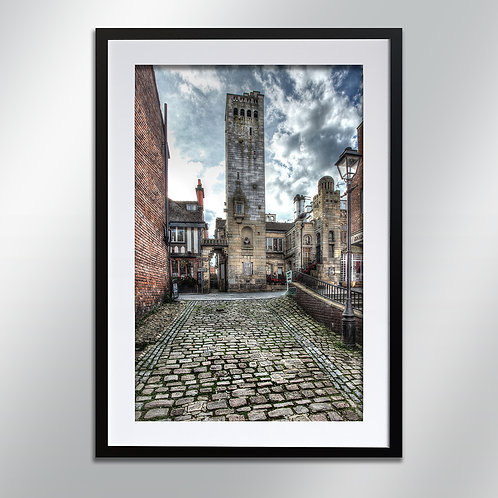 Knutsford Gaskell Tower, Wall Art, Cityscape, Fine Art Photography