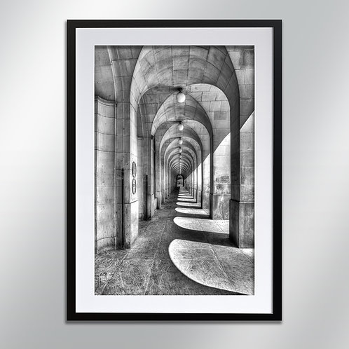 Manchester Town Hall Arches, Wall Art, Cityscape, Fine Art Photography