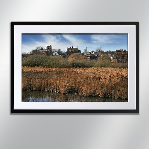 Knutsford Skyline, Wall Art, Cityscape, Fine Art Photography