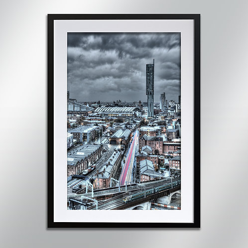 Manchester Liverpool Road, Wall Art, Cityscape, Fine Art Photography