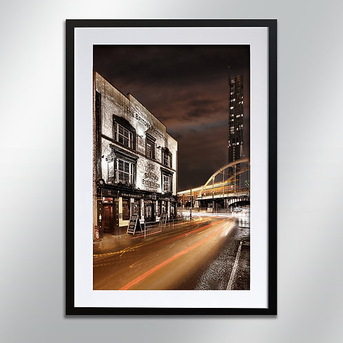 Manchester Britons Protection, Wall Art, Cityscape, Fine Art Photography