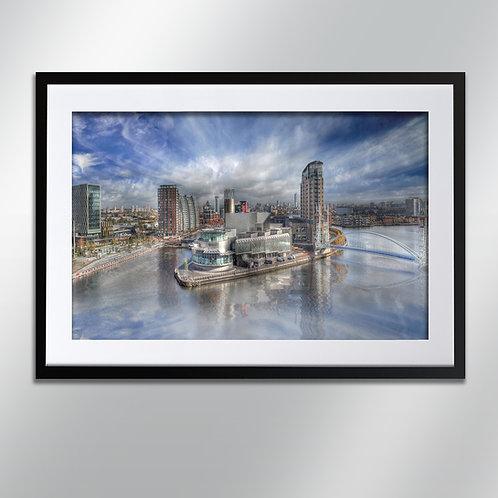 Manchester Salford Media City, Wall Art, Cityscape, Fine Art Photography